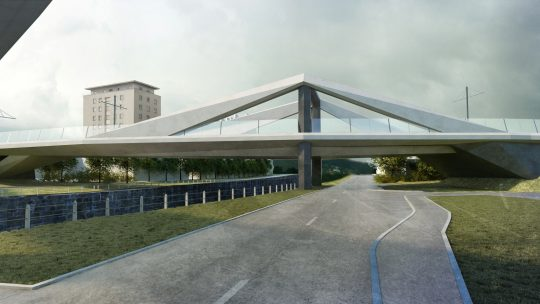 Brückenwettbewerb Verbindungsbahn