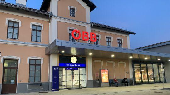 Umbau Personentunnel und Bahnhof Tulln